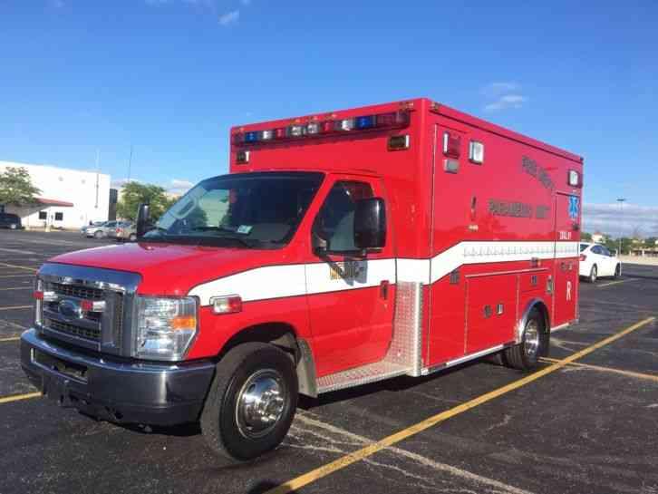 Ford E 450 Medtec Type Iii 2008 Emergency Amp Fire Trucks