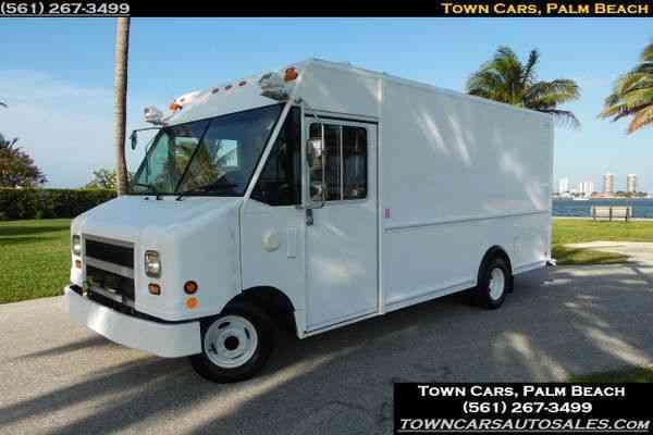 Food Truck Step Van
