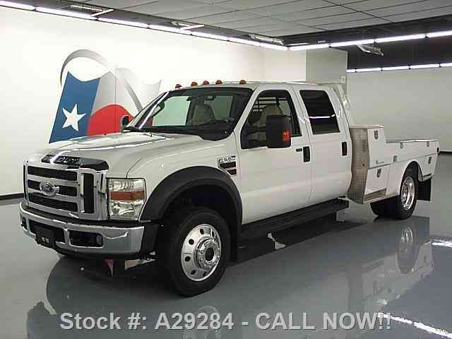 Ford F-550 LARIAT 4X4 DIESEL DUALLY HAULER BED (2008)
