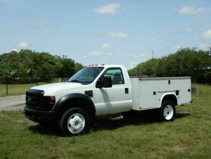 Ford Super Duty F-550 Service Utility Truck (2008)