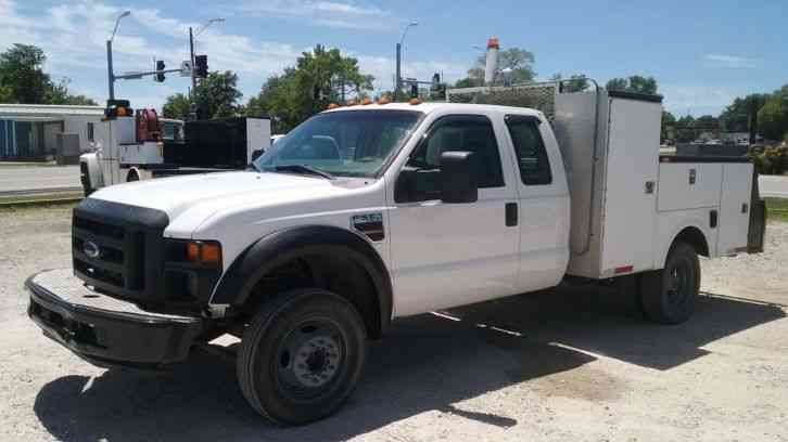 Ford F-550 Utility Truck (2008)