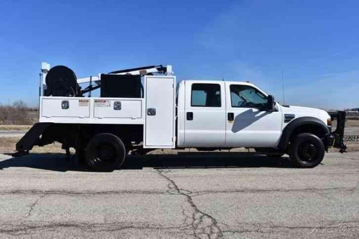 Ford F 550 For Sale >> Ford F-550 Railroad Service Truck (2008) : Utility / Service Trucks