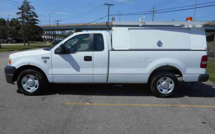 ford f150 2008 utility service trucks. Black Bedroom Furniture Sets. Home Design Ideas