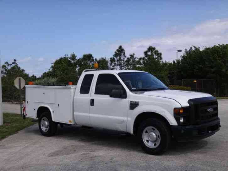 Ford F250 Super Duty For Sale >> Ford F250 Super Duty Service Utility Truck 2008 Utility