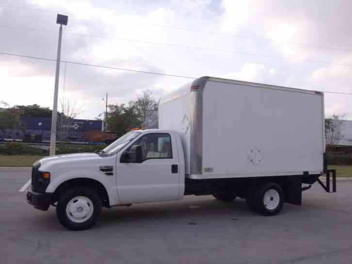 Ford F350 Super Duty Drw Cab Chassis 12ft Box Truck 2008