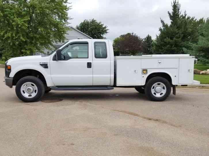 Ford F350 4X4 (2008) : Utility / Service Trucks