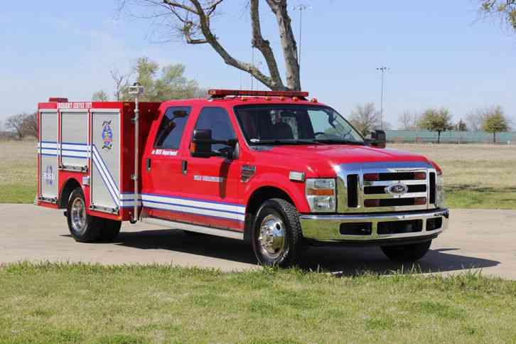 Ford F350 (2008) : Emergency & Fire Trucks