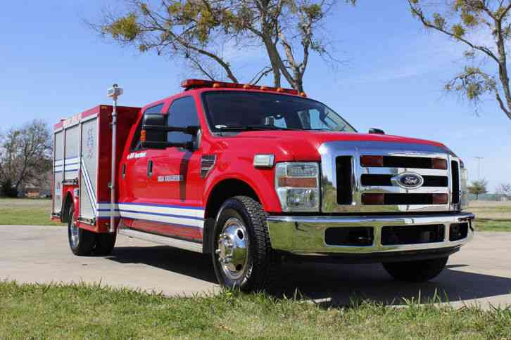 Used F350 For Sale >> Ford F350 (2008) : Emergency & Fire Trucks
