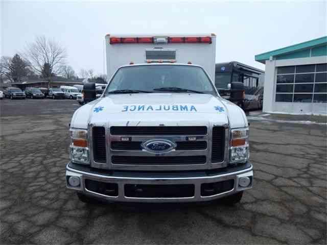 Ford F350 Super Duty 4wd Ambulance 2008 Emergency
