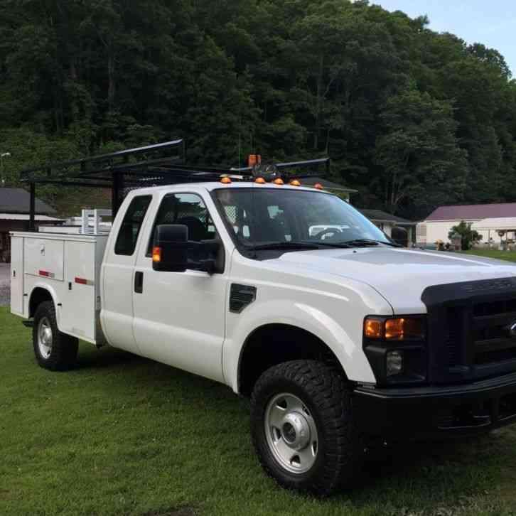 Ford Super Duty (2008) : Utility / Service Trucks