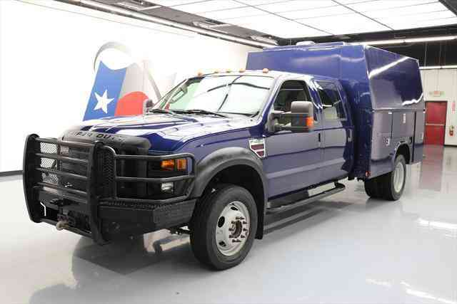 ford f 450 2008 utility service trucks