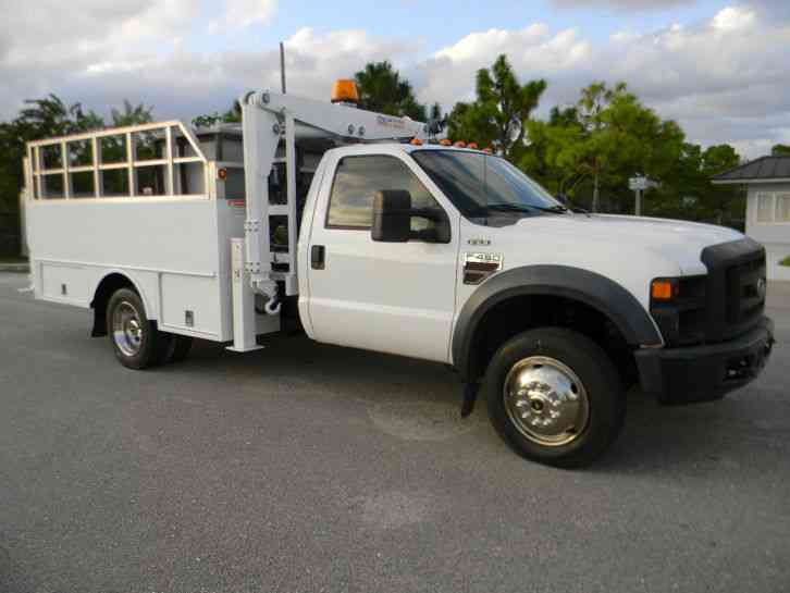 ford f450 2008 utility service trucks. Black Bedroom Furniture Sets. Home Design Ideas