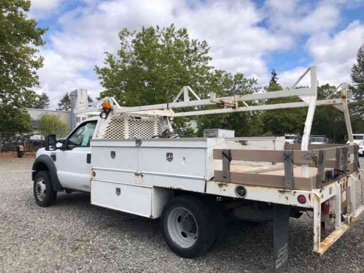 Ford F450 Flatbed Diesel (2008)