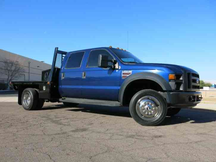 Ford Super Duty F-450 DRW Cab-Chassis CREW CAB 4X4 DIESEL (2008)