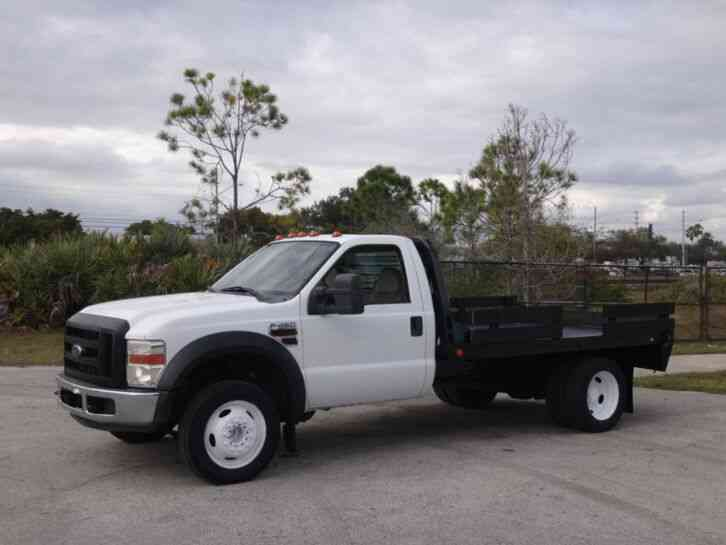 Ford F450 Super Duty Flatbed (2008)