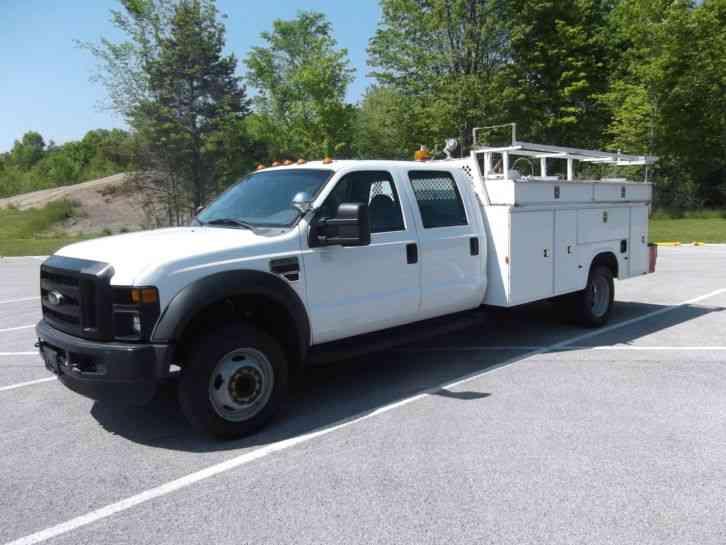 ford f550 2008 utility service trucks. Black Bedroom Furniture Sets. Home Design Ideas