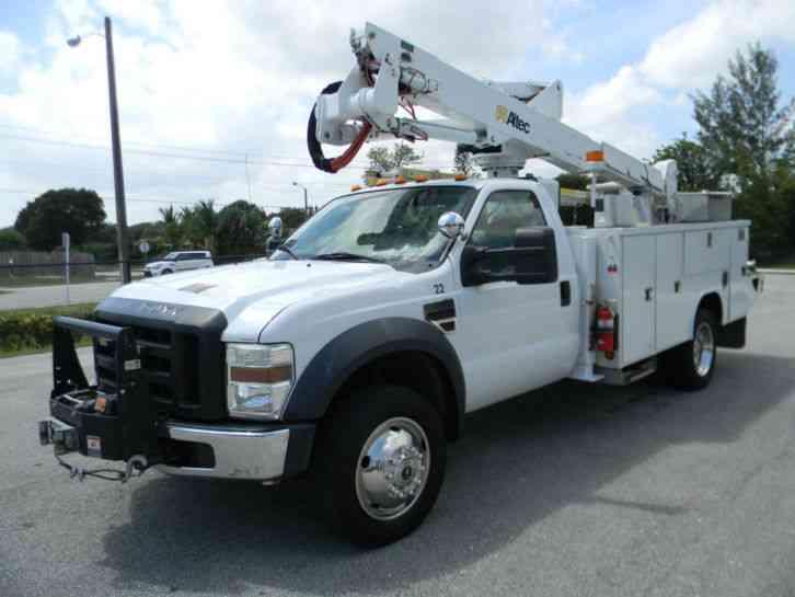 ford f550 super duty 2008 bucket boom trucks. Black Bedroom Furniture Sets. Home Design Ideas