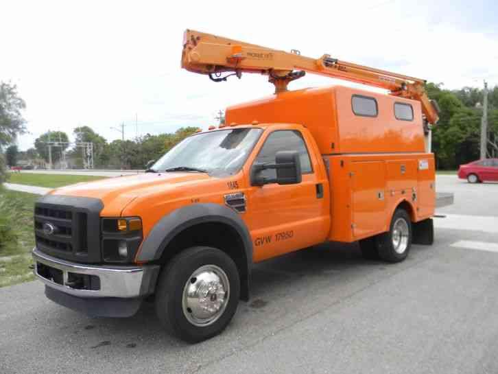 F550 For Sale >> Ford F550 Super Duty (2008) : Bucket / Boom Trucks