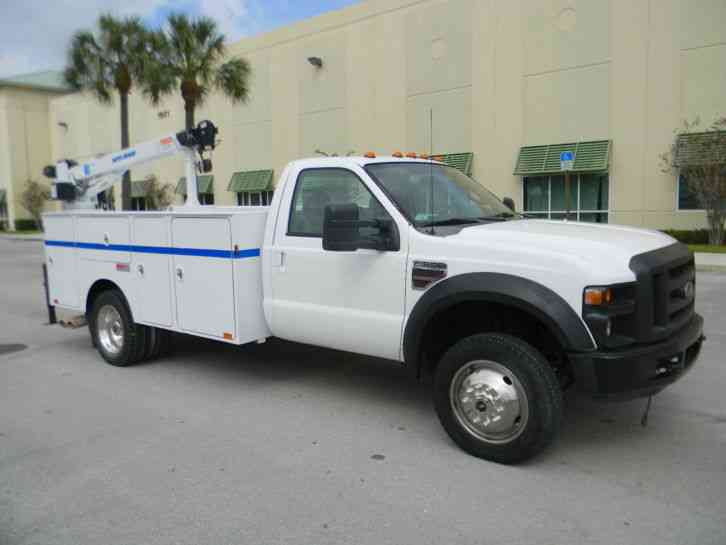 ford f550 super duty 2008 utility service trucks. Black Bedroom Furniture Sets. Home Design Ideas