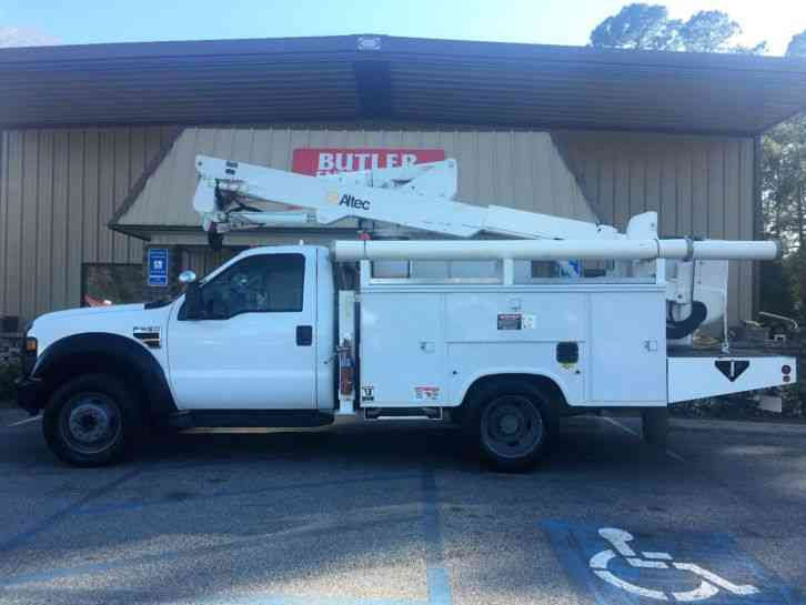 Ford F550 Altec AT37G Bucket Truck (2008)