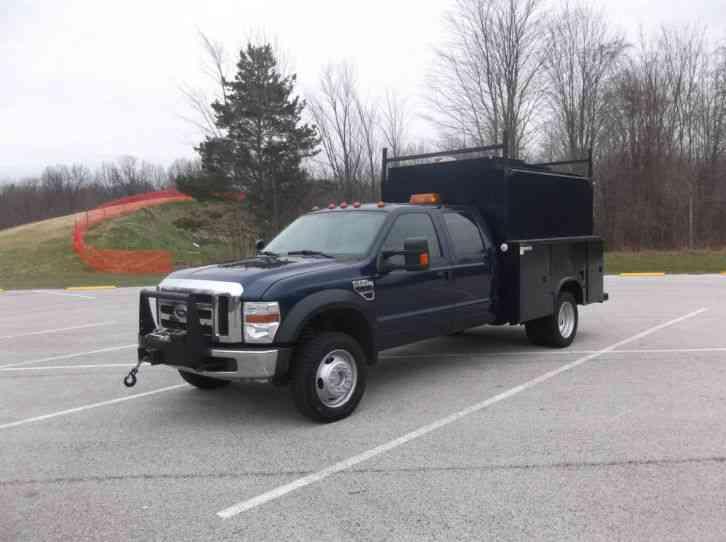 ford f550 xlt super duty 2008 utility service trucks. Black Bedroom Furniture Sets. Home Design Ideas