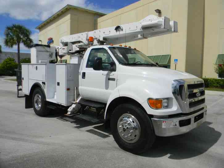 ford f650 xl 2008 bucket boom trucks. Black Bedroom Furniture Sets. Home Design Ideas