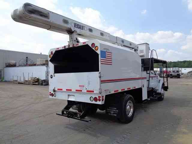 Chipper Truck For Sale >> FORD F750 BUCKET BOOM CHIPPER DUMP TRUCK (2008) : Bucket / Boom Trucks