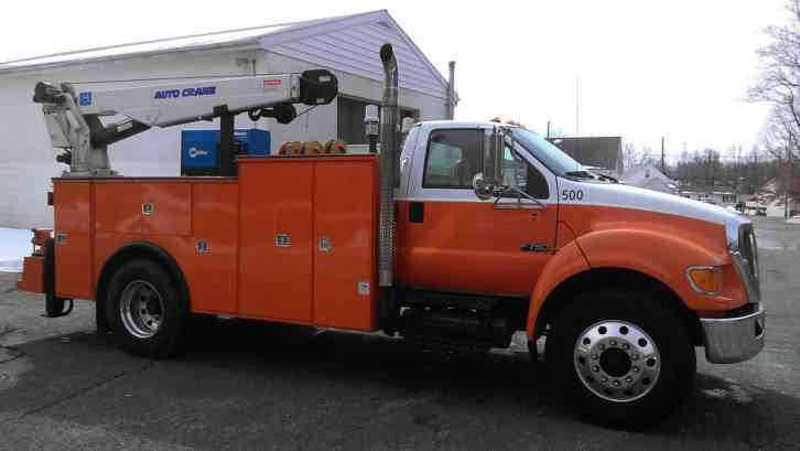Ford F750 For Sale >> Ford F750 (2008) : Utility / Service Trucks
