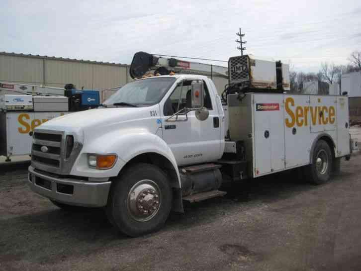 Ford F750 2008 Utility Service Trucks