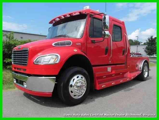 freightliner m2 106 sports chassis cre  2008    medium trucks