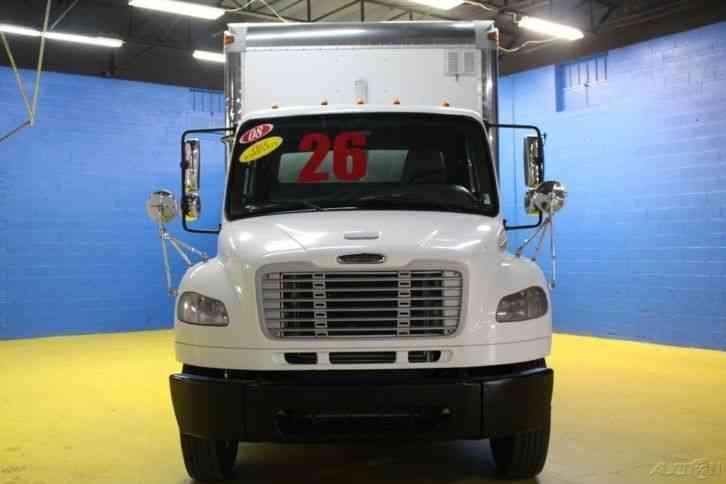 Used Bucket Trucks For Sale >> Freightliner TANDEM AXLE MM106 (2008) : Van / Box Trucks