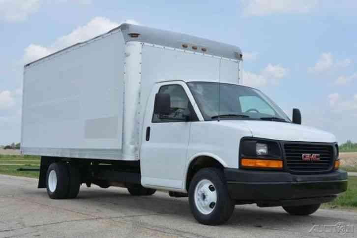 Gmc Savana 3500 >> GMC G3500 16ft Box Truck w/ New Lift (2008) : Van / Box Trucks