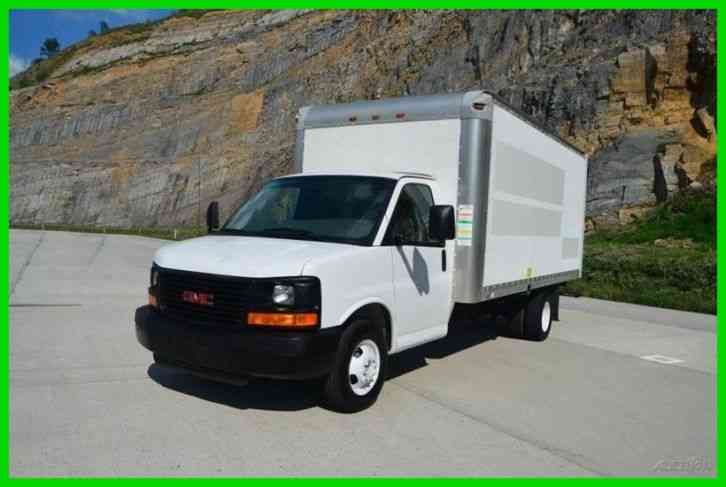 gmc savana cutaway 2008 van box trucks. Black Bedroom Furniture Sets. Home Design Ideas