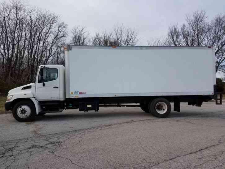 Hino 238 2008 Van Box Trucks
