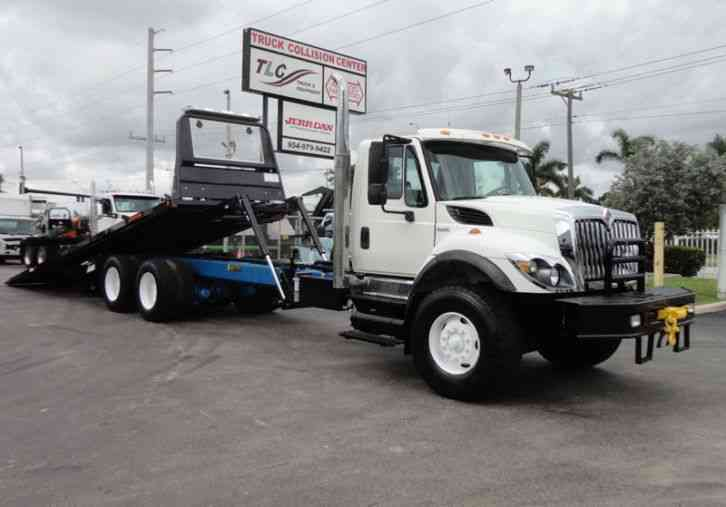 International 7500 *NEW* 28FT 15 TON ROLLBACK INDUSTRIAL JERRDAN. (2008)