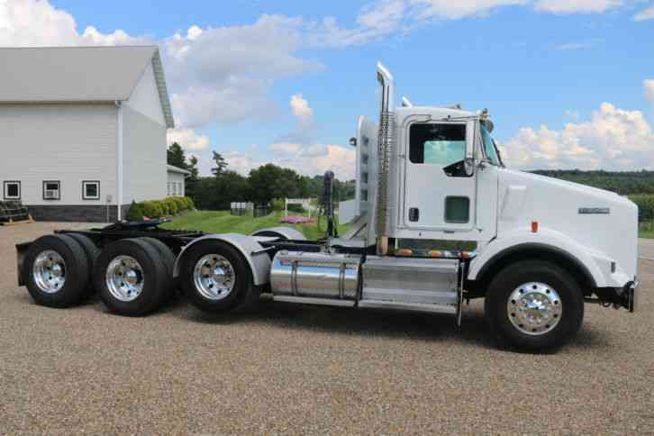Heavy Truck Axles : Kenworth t daycab semi trucks