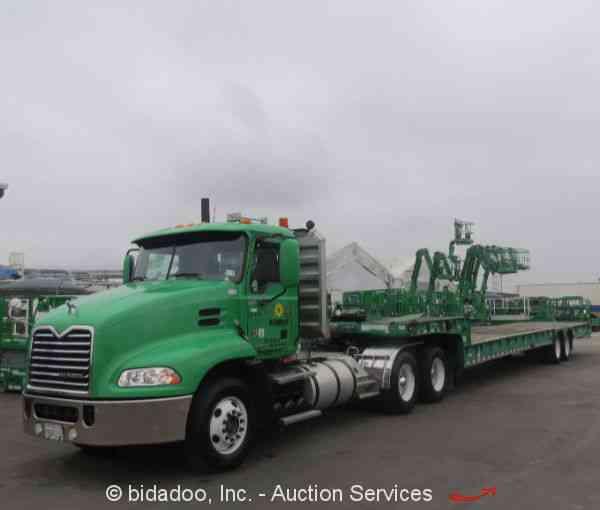 Mack Truck Wet Kit : Mack cxu daycab semi trucks