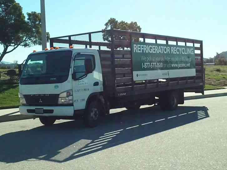 Mitsubishi Fuso Fe180 2008 Utility Service Trucks