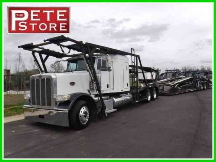 Peterbilt 388 Sleeper / Car Hauler (2008)