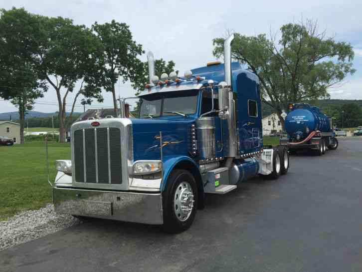 Peterbilt 389 2008 Sleeper Semi Trucks