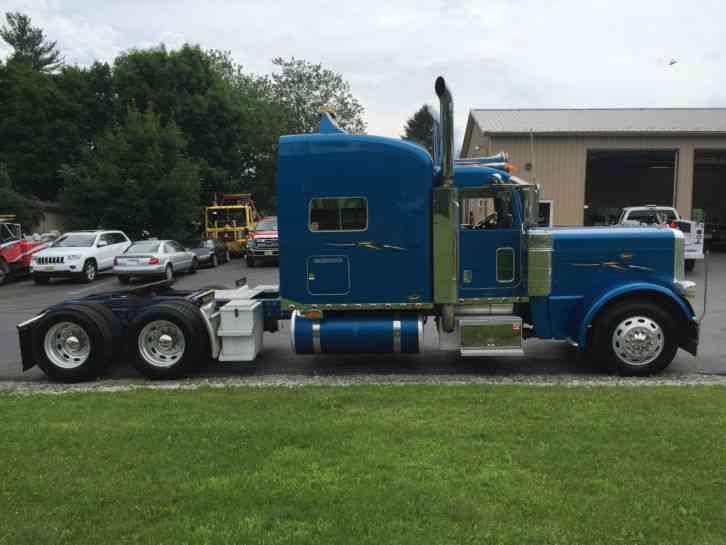 Peterbilt 379 Single Axle For Sale >> Peterbilt 389 (2008) : Sleeper Semi Trucks