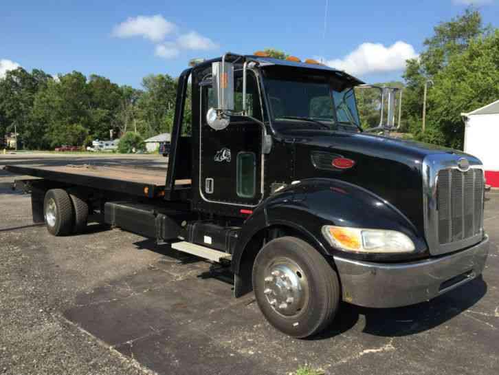 Peterbilt Pb Tow Trucks Flatbeds Rollbacks Rollback Wrecker Flatbed on Used Extended Cab Rollback Wreckers Sale