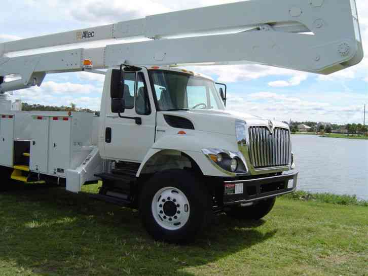4X4 Van For Sale >> International 7400 BUCKET TRUCK 82 FT (2009) : Bucket ...