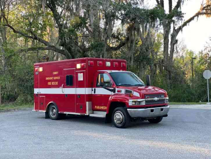 Chevrolet C4500 Kodiak Ambulance (2009)