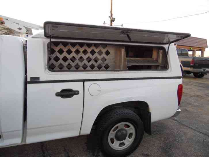 Trucks For Sale In Colorado >> Chevrolet COLORADO FIBERGLASS ENCLOSED UTILITY TRUCK ...