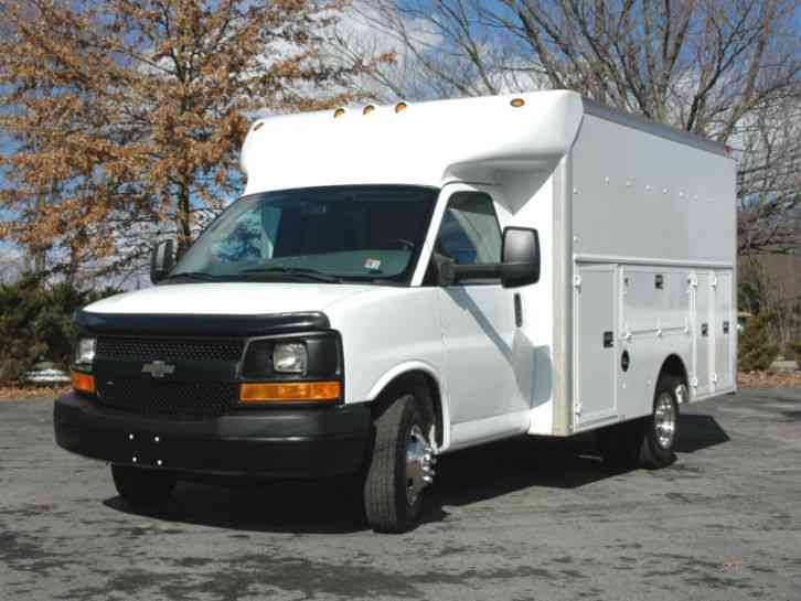 Chevrolet G3500 Enclosed Utility 2009 Utility