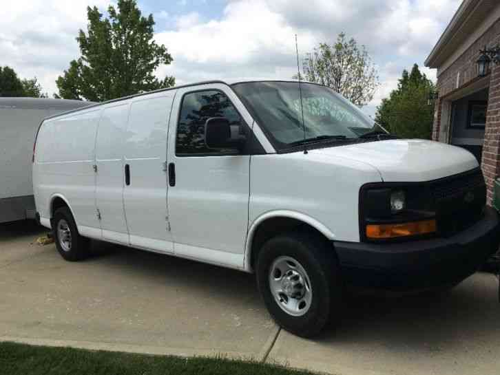 Chevrolet Express 2500 Xl  2009    Van    Box Trucks