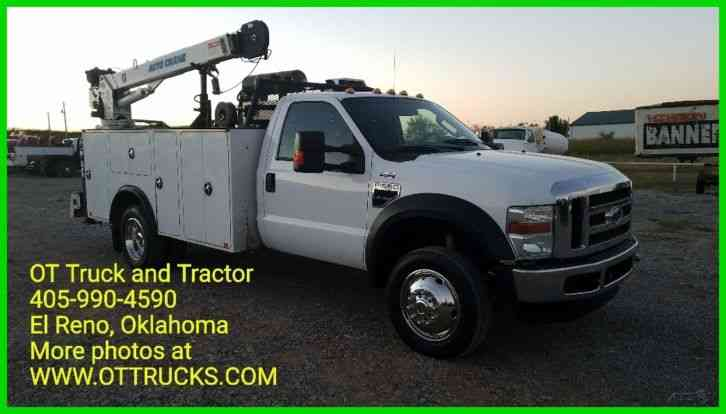Ford F-550 Crane Utility Service Bed (2009)
