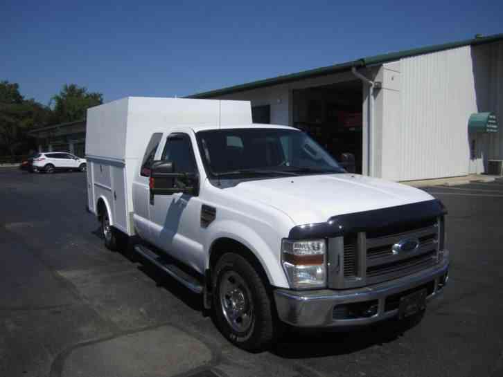 Ford F350 Extended Cab With Utility Bed 2009 Utility