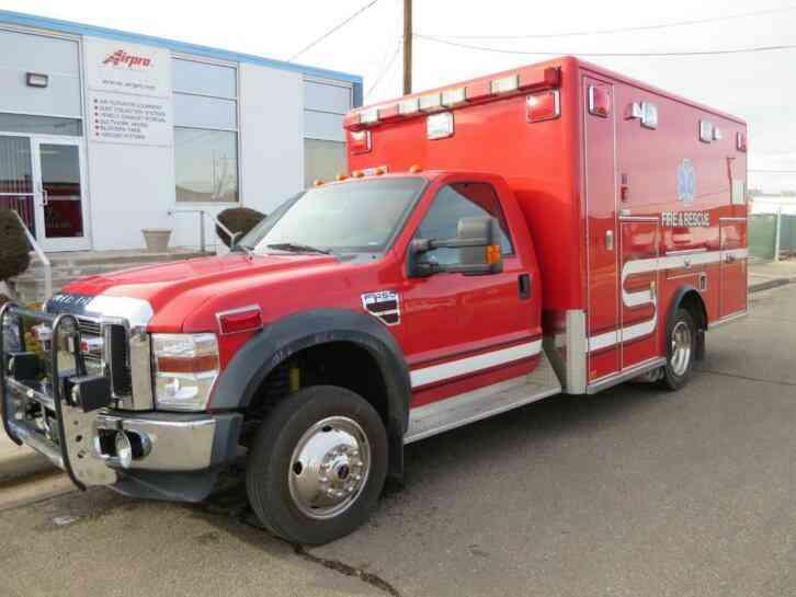 ford f450 horton ambulance (2009)